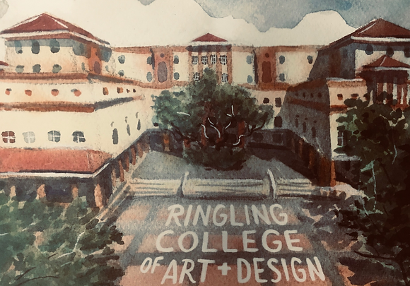 Ringling College of Art and Design Notecard