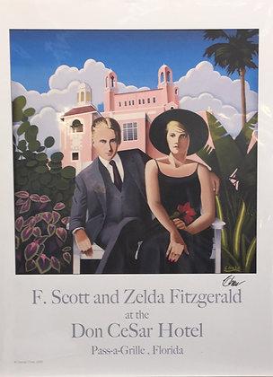 Pass-a-Grille FL, F.Scott and Zelda Fitzgerald