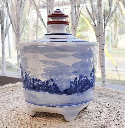 Blue Pottery #006
