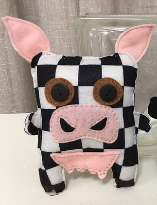 Checkered Pig