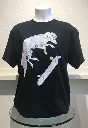 Fox on Skateboard T-Shirt