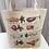 Thumbnail: Veggie/Fish and Mammal Canvas Tote Bag