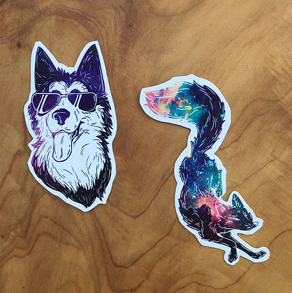 Fox Venture Stickers