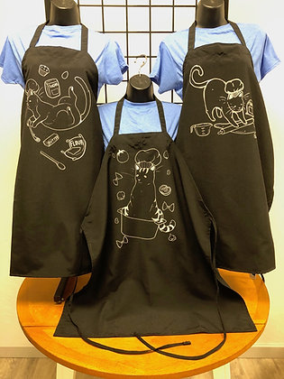 Kitchen Kitty  Aprons