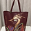 Thumbnail: Hand Painted Leather Bag