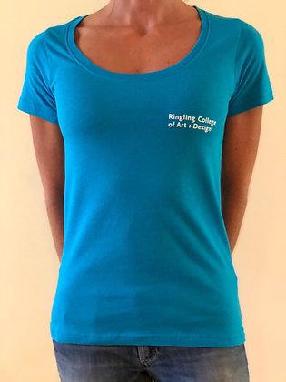RCAD Ladies' Full Cut Scoop Neck T-Shirt