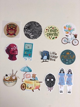 RCAD Student Designed Stickers