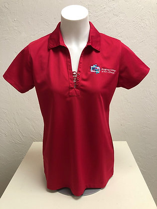 RCAD Ladies' V-Neck Polo