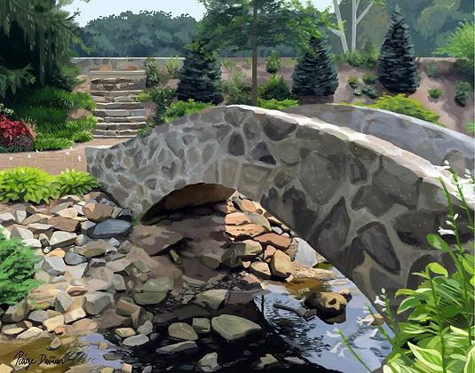 River in Rock Quarry