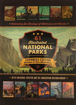 61 Illustrated National Parks