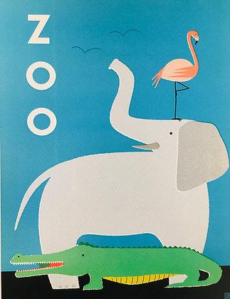 Zoo Buddies:  Blue
