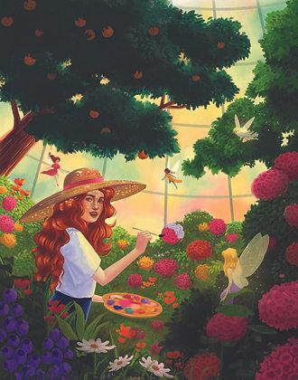 The Painter's Secret Garden