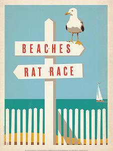 Beach/Rat Race Print