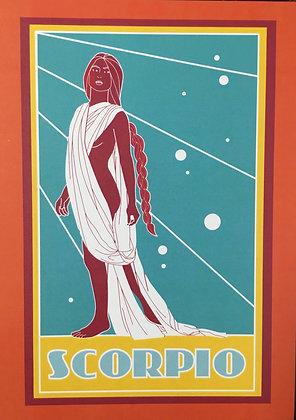 Scorpio Zodiac Sign Print