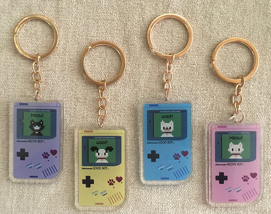 Wintendo Key chain in Acrylic