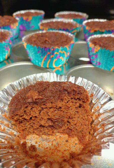 Fudgy Chocolate Muffins