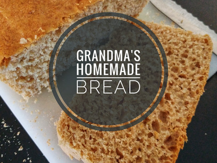 Grandma's Homemade Bread
