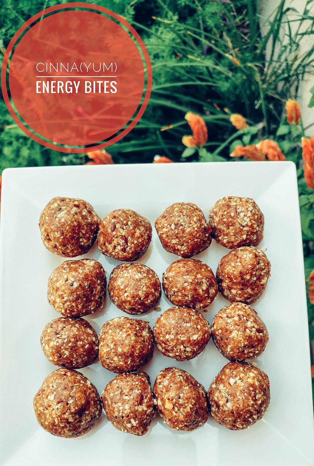 Cinna(yum) Energy Bites
