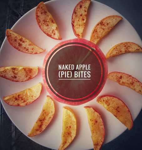 Naked Apple (Pie) Bites