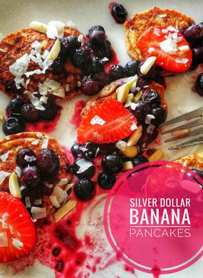 Silver Dollar Banana Pancakes