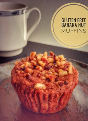Banana Nut Muffins (Gluten-Free)