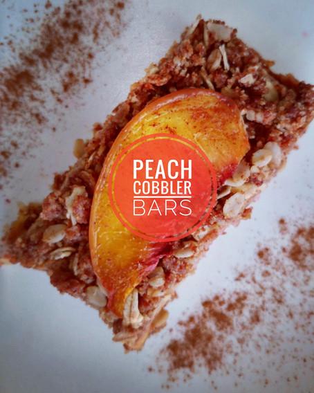 Peach Cobbler Bars