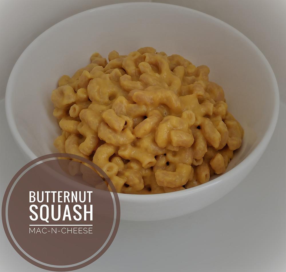 Butternut Squash Mac-N-Cheese