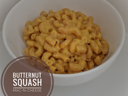 Butternut Squash Mac-N-Cheese