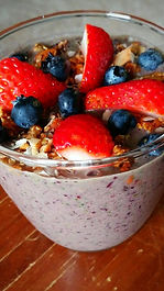 Blueberry Blender Bowl