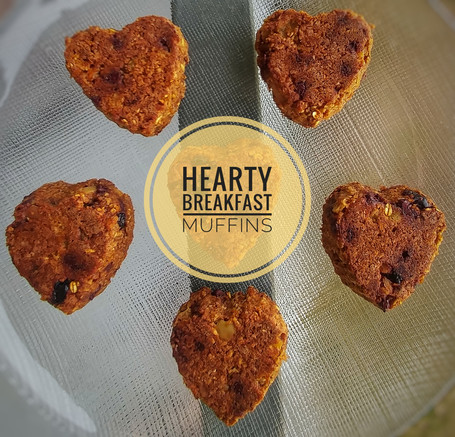 Hearty Breakfast Muffins
