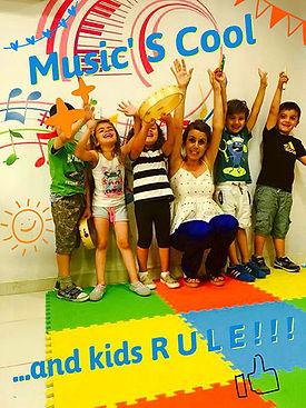 Music's Cool - Τμήμα Kindermusik