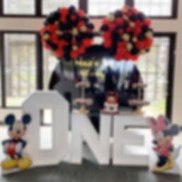 Mickey Ear Balloons