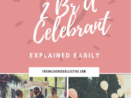 TRAINING TO BE A CELEBRANT - EXPLAINED EASILY