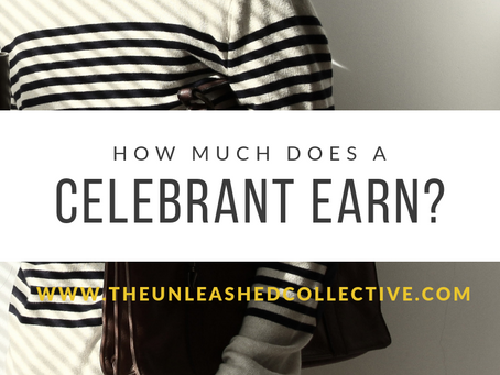 HOW MUCH DOES A CELEBRANT EARN?