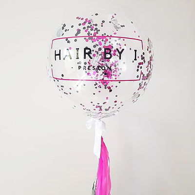 Bubble Balloon with Text