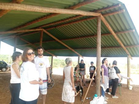 Inauguração do Espaço Comunitário d'Urubu