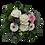 Romantischer Blumengruß