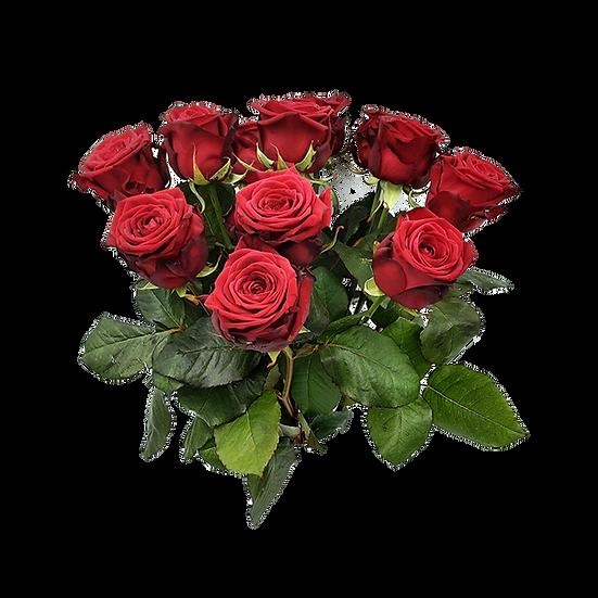 Ich liebe Dich-Strauß mit roten Rosen