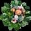 Blumenstrauß Herzlichen Glückwunsch Rosen und Gerbera in Pastelltönen