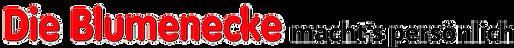 Logo Die Blumenecke macht's persönlich