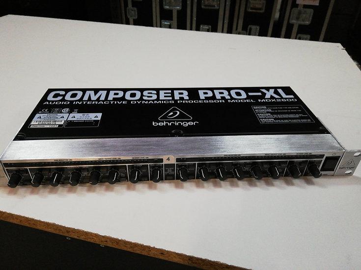 Behringer Composer PRO-XL MDX-2600
