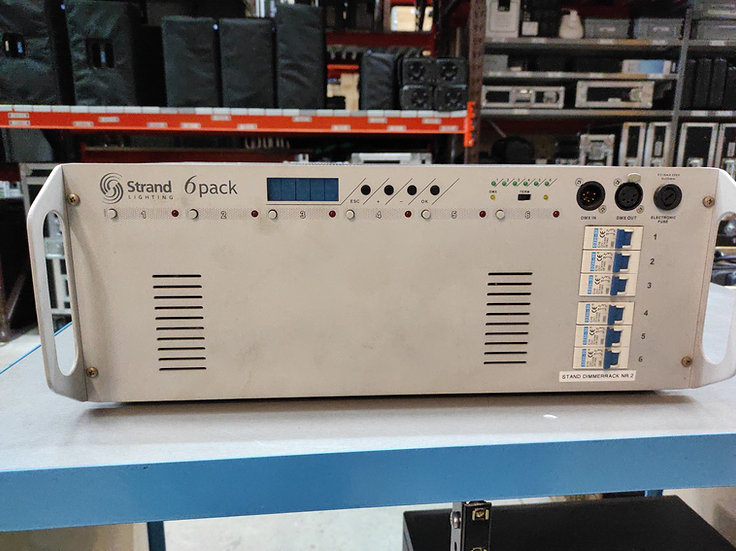 Strand 6Pack Digital Dimmer Pack