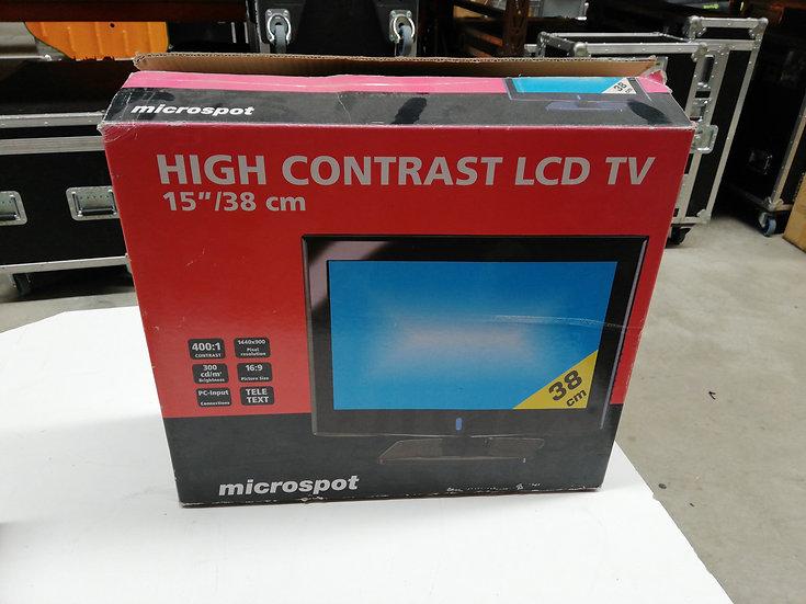 """Microspot 15"""" LCD TV"""