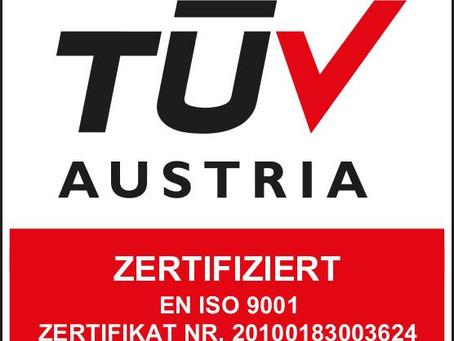 GTech bestätigt Norm ISO 9001 abermals