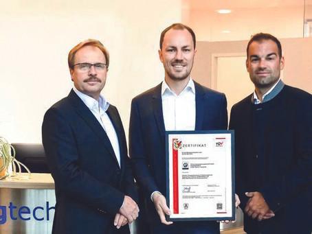 Zertifizierung für GTech aus Ried im Traunkreis