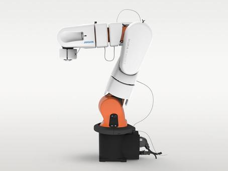 Ein sensitiver Roboter