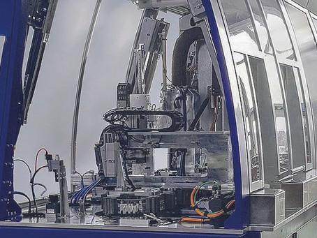GTech automatisiert die Montage von Gasfedern