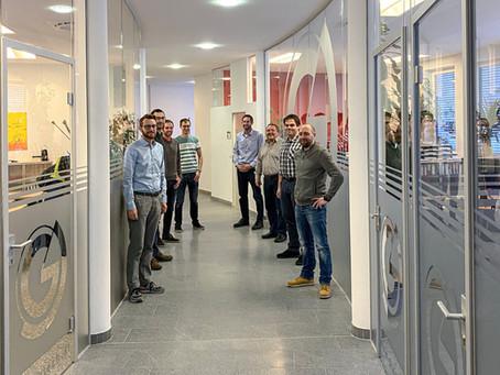Neue Büros für Verkauf und Anlagentechnik- & Prozessentwicklung
