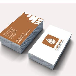 לוגו וניירת Cake&More