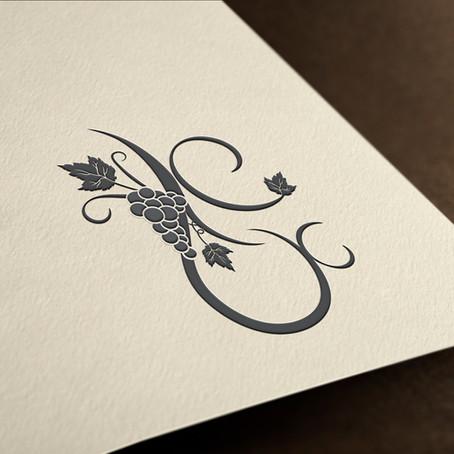 עיצוב מונוגרם להזמנת חתונה